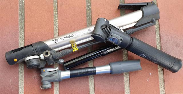Fahrrad Mini-Pumpen