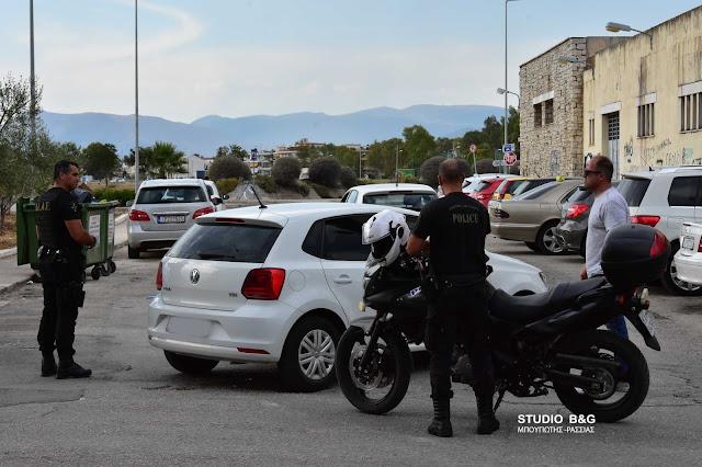 """""""Αδέσποτο¨αυτοκίνητο προκάλεσε αναστάτωση στο Ναύπλιο"""