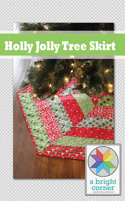 Holly Jolly Tree Skirt Pattern