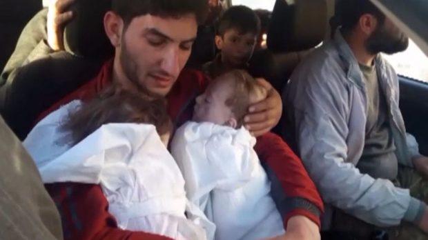 Gas Beracun Idlib, Begini Kisah Pilu Pria yang Kehilangan 25 Keluarganya