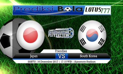 PREDIKSI SKOR Japan vs South Korea 16 Desember 2017