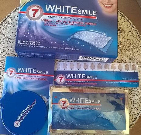 White smile trakice za izbjeljivanje