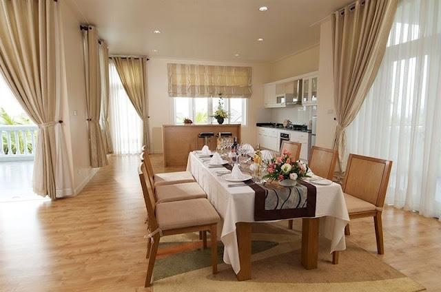 Phòng khách sang trọng - Sea links beach villa mũi né