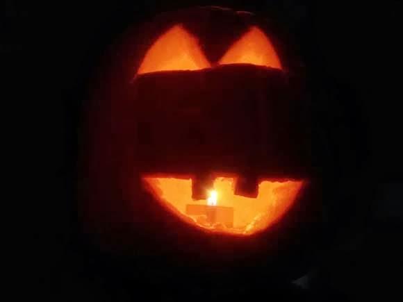 Halloween skelet brownies