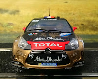 "Citröen DS3 WRC ""Abu Dhabi"" Scalextric"