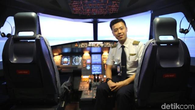 Pilot Capt Vincent Raditya Kembali Kantongi Izin Terbang Single Engine