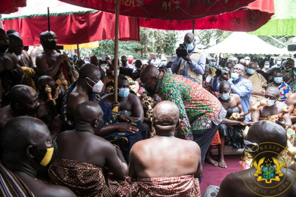 """Asanteman Will Remember Your Good Works On 7th December"" – Otumfuo To President Akufo-Addo"