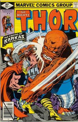 Thor #285, Karkas