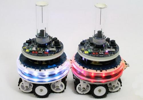Tinuku Self-reconfiguring modular robots, nervous machine forces