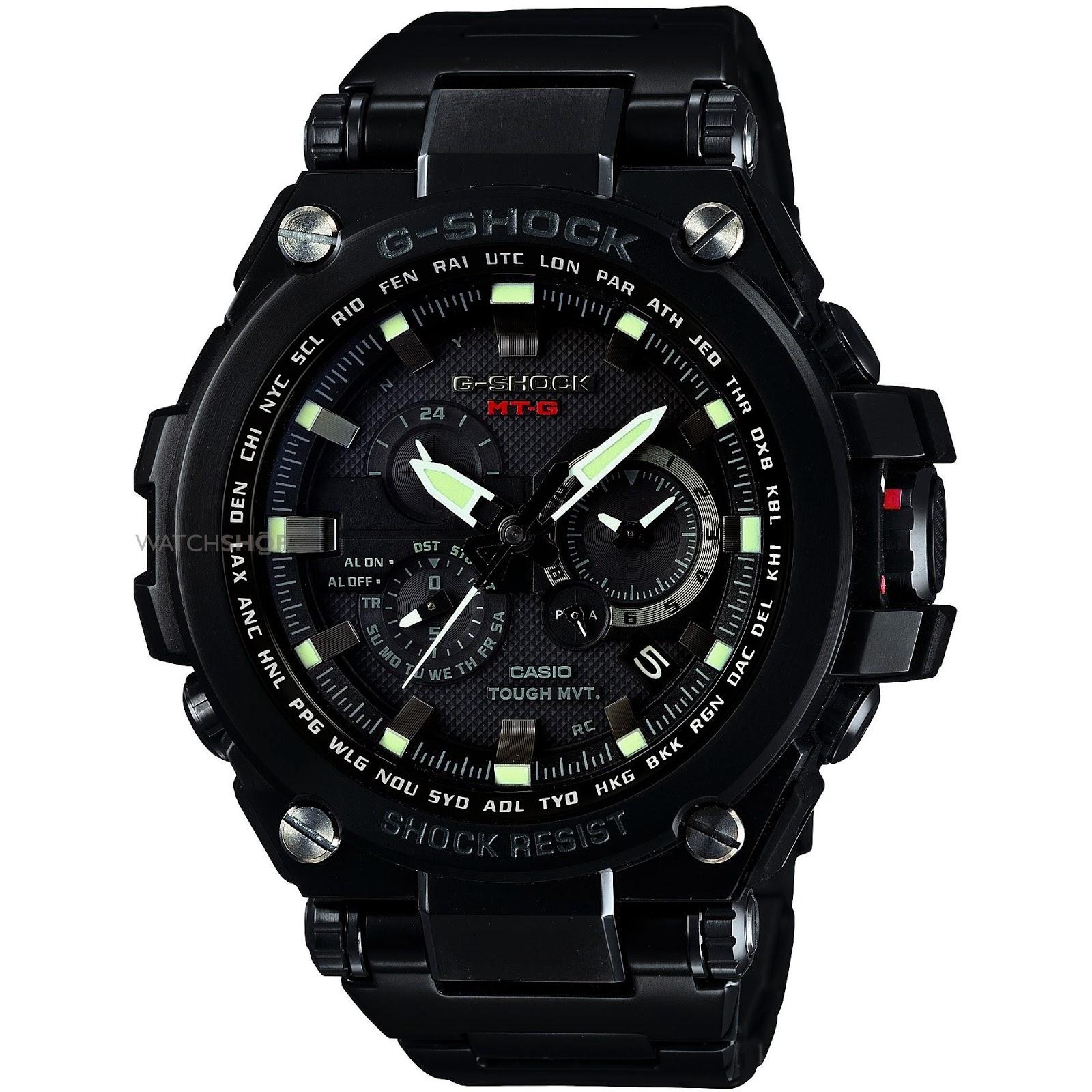 Accesorios masculinos: El reloj Casio G-Shock