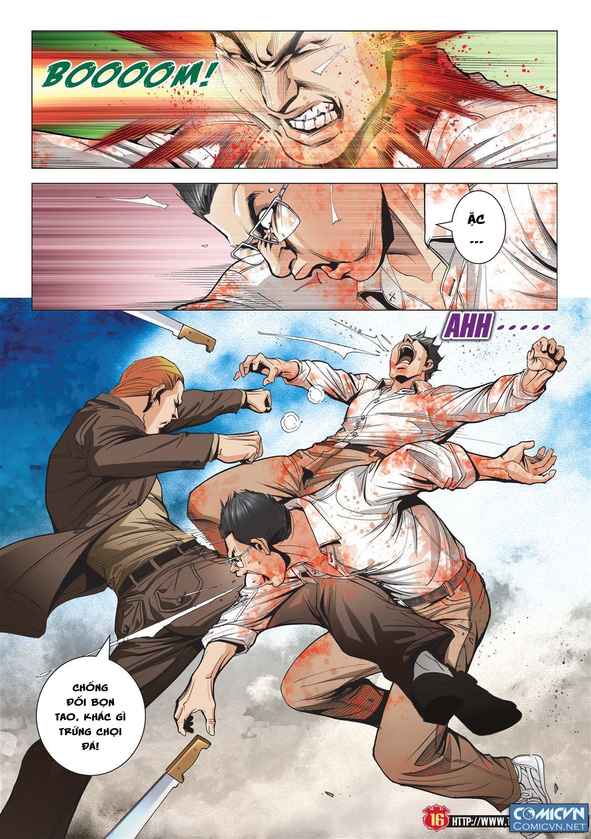 Người Trong Giang Hồ chapter 1997: triệu oánh vs đinh dao trang 14