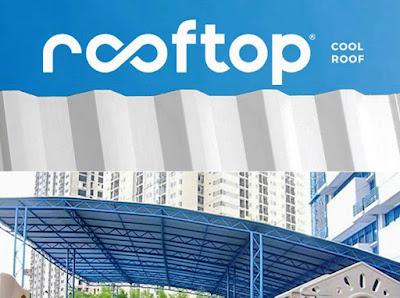 Supplier atap plastik uPVC Rooftop