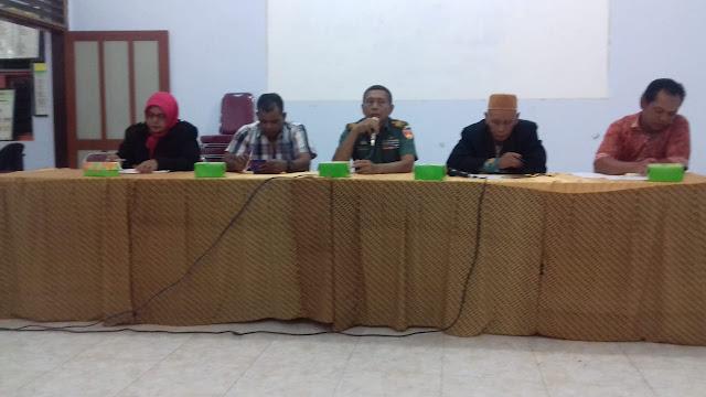 Kepala Desa Jimbung Gelar Rapat Persiapan Upacara Pembukaan TMMD Reg 105
