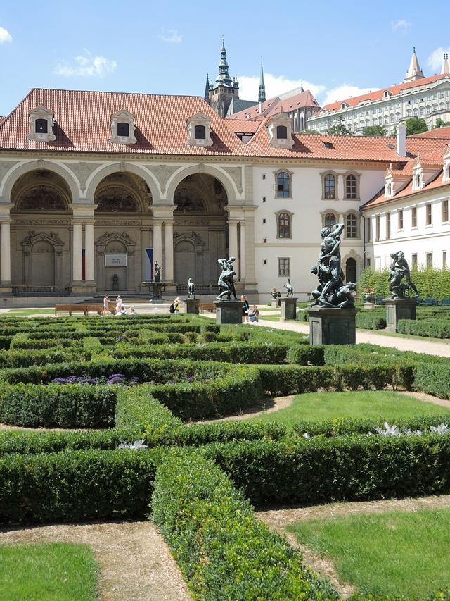 Praag: De Waldsteintuin