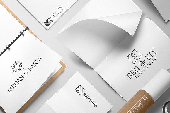 Tips Mendesain Logo - Cari Inspirasi Geometric Logo