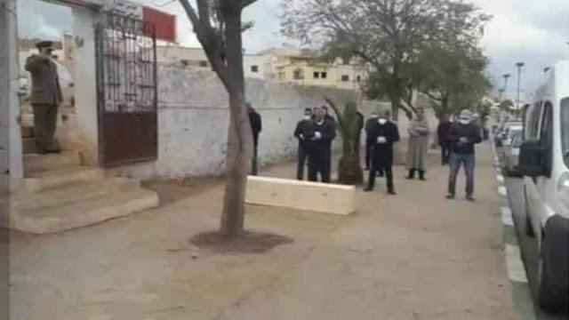 كورونا المغرب : هكذا أقيمت صلاة الجنازة على ضحية فيروس كورونا بمدينة مكناس