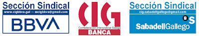 CIG BANCA - Seccións Sindicais da CIG BBVA—SabadellGallego