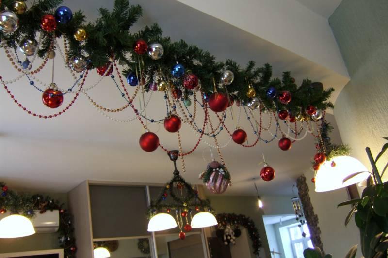 Hermosas guirnaldas navide as f ciles de hacer para - Ideas decorativas navidenas ...