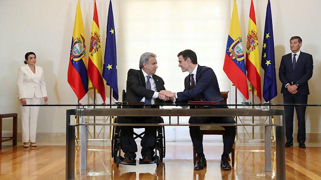 España y Ecuador firman un acuerdo de cooperación contra el crimen organizado transnacional