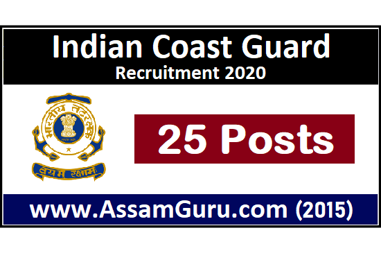 Indian Coast Guard Job 2020