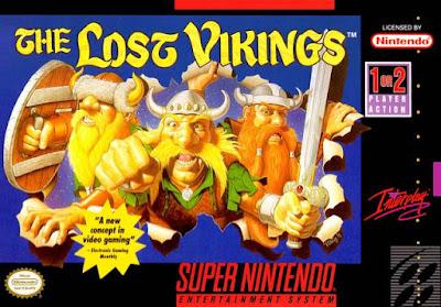 Rom de The Lost Vikings - SNES - Em Português - Download