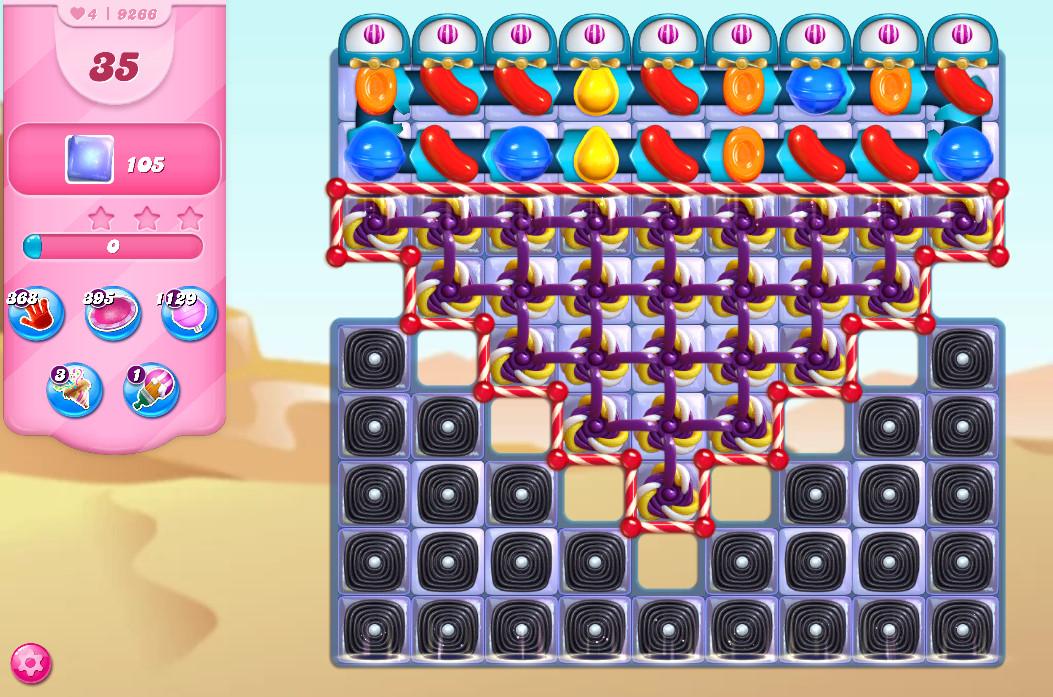Candy Crush Saga level 9266