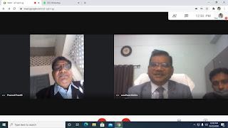 स्वामी विवेकानंद कॅरियर मार्गदर्शन  के अधीन व्याख्यान श्रंखला का  साइबर सुरक्षा एवं संबंधित कानूनों पर ऑनलाइन वेबीनार संपन्न