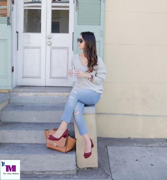 gaya penampilan sederhana dan elegan ala wanita perancis