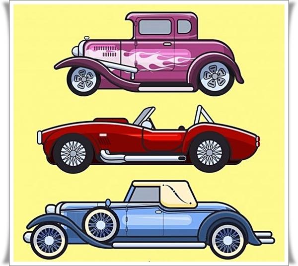 Klasik Araba Boyama