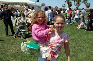 Easter Egg hunt - Stock Photo credit: familylife