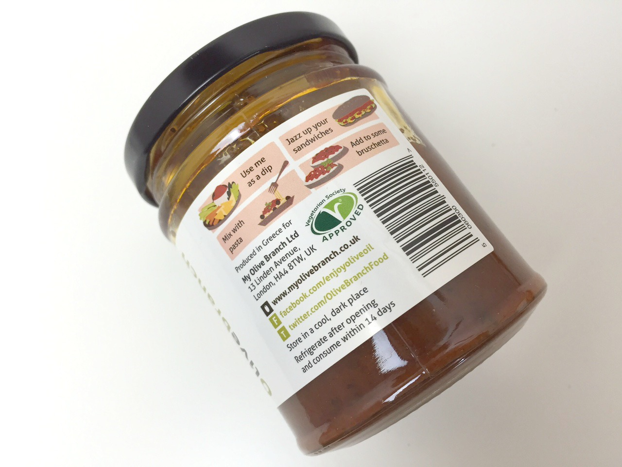 Olivebranch Sun Dried Tomato Paste