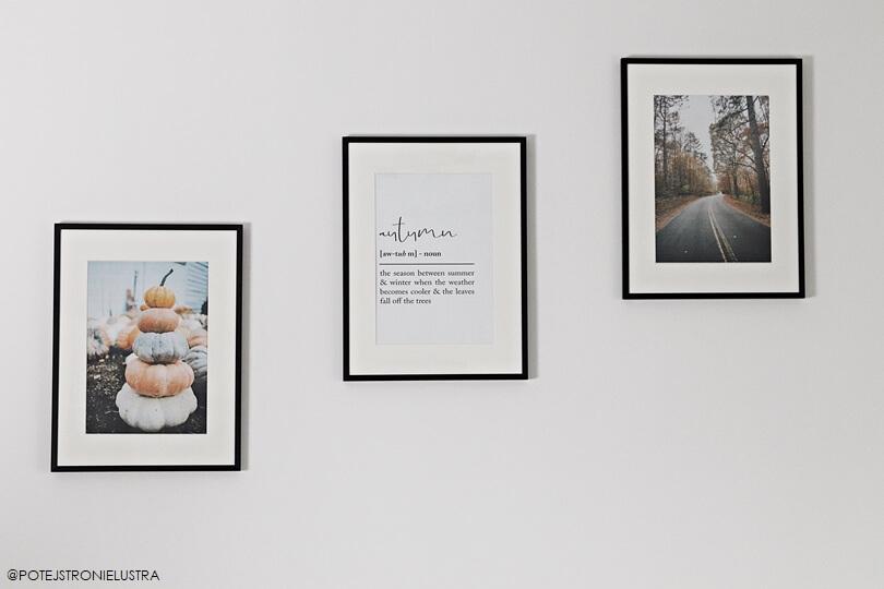 jesienne plakaty do druku