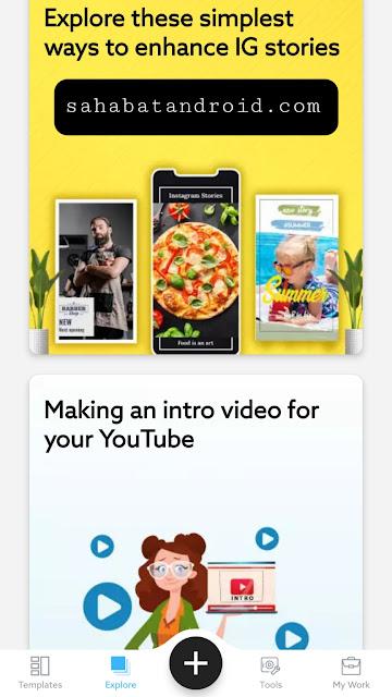 Fitur Explore VideoAdking Mod Pro