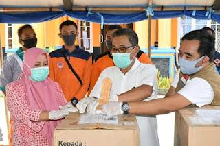 Pemerintah Kabupaten Batanghari Terima Bantuan APD dari PT.Sinar Mas Grup