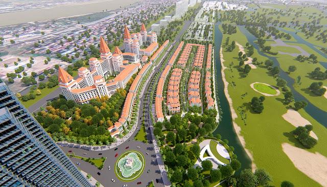 Phối cảnh dự án Sunshine Wonder Villas