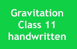Gravitation%2BClass%2B11%2Bhandwritten%2Bnotes%2B