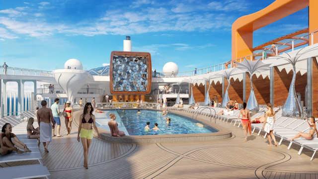 Celebrity Edge Resort Deck (C) Celebrity Cruises