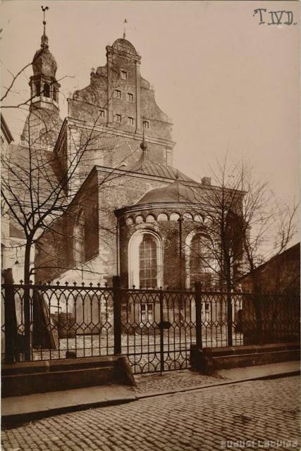 1890-е годы. Рига. Домская площадь и Домский собор