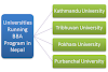 Universities Running BBA Program in Nepal