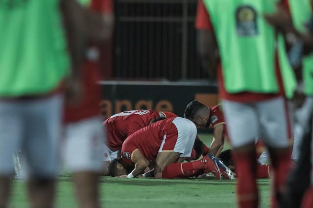 صور من مباراة الأهلي وصن داونز دوري ابطال افريقيا