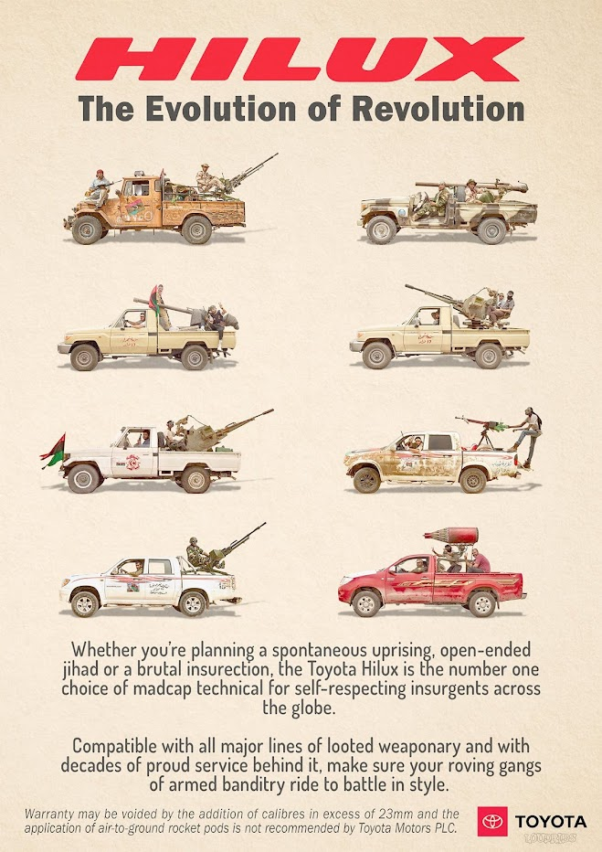 Toyota Hilux - Evolution of Revolution