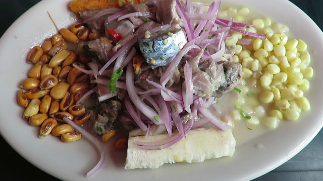 Ceviche de Caballa salada