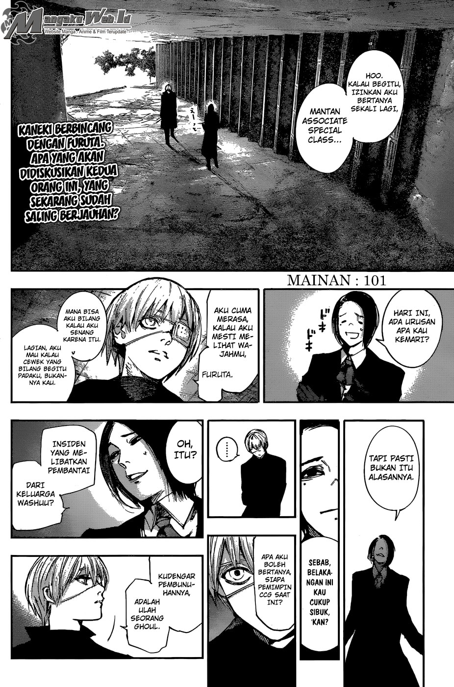 Tokyo Ghoul: Re Chapter 101-3
