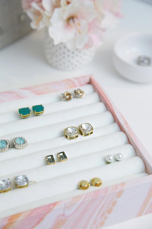 Iheart Organizing Diy Ring Earring Jewelry Organizer