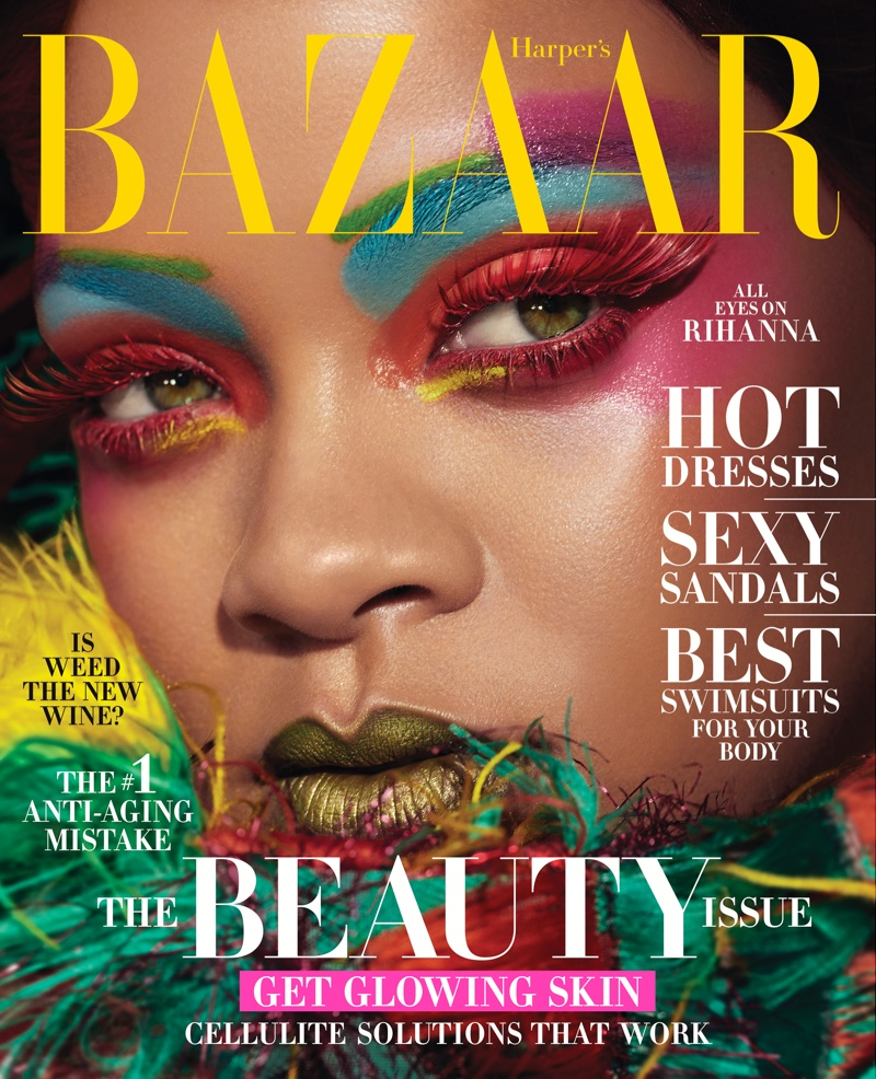 Cover Shoot: Rihanna for Harper's Bazaar US May 2019