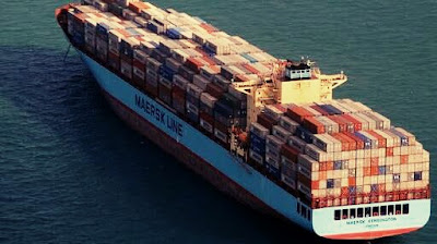 Maersk cautions exchange war will hit container shipping business