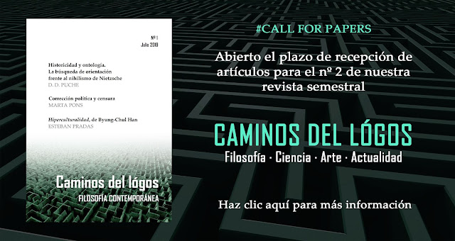 Caminos del lógos | Revista semestral de filosofía.