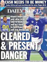 The Giants seek win #2