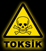 Toksik uyarı tabelası