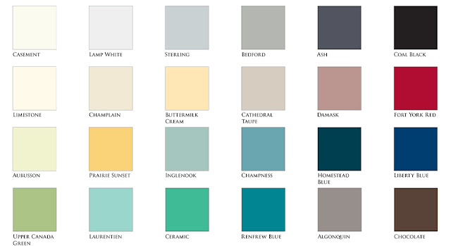 Fusion Mineral Paint Color Chart, Bliss-Ranch.com
